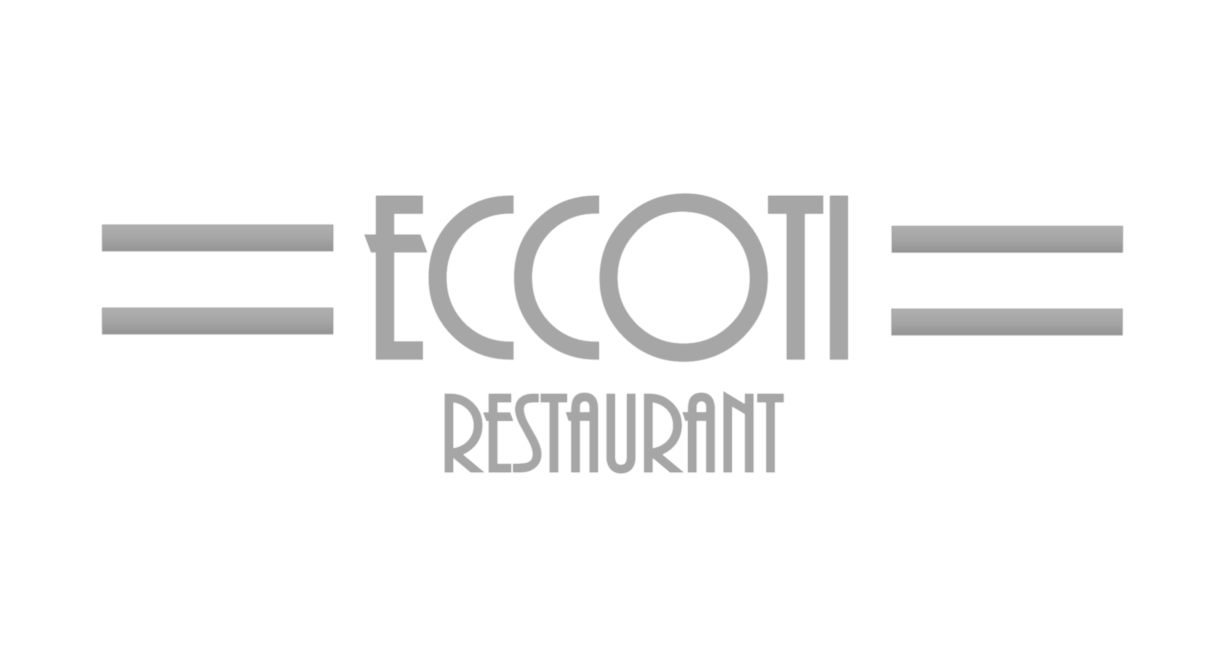 Eccoti Restaurant logo. Links to homepage.